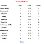 Fixture list